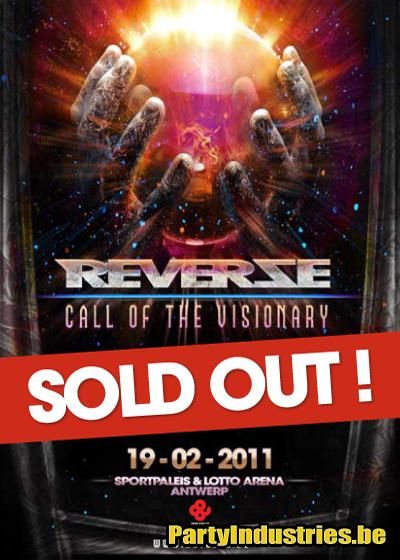 Flyer van Reverze 2011 - Call of the Visionary