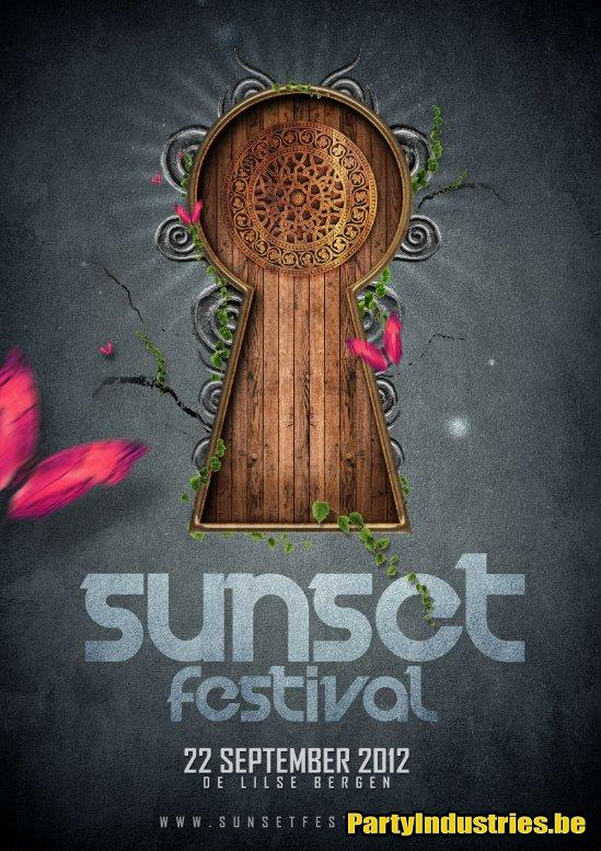 Flyer van Sunset Festival