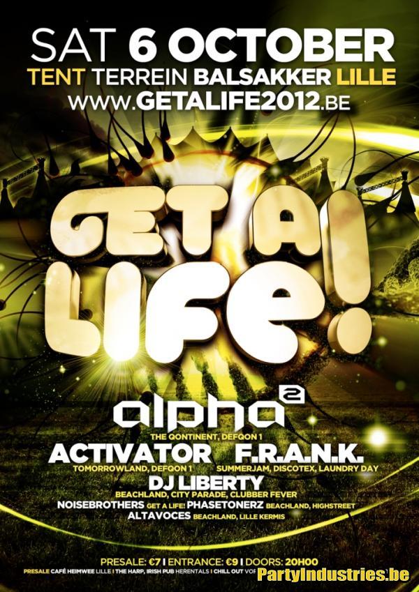Flyer van Get A Life!