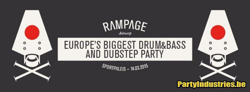Flyer van Rampage 2015