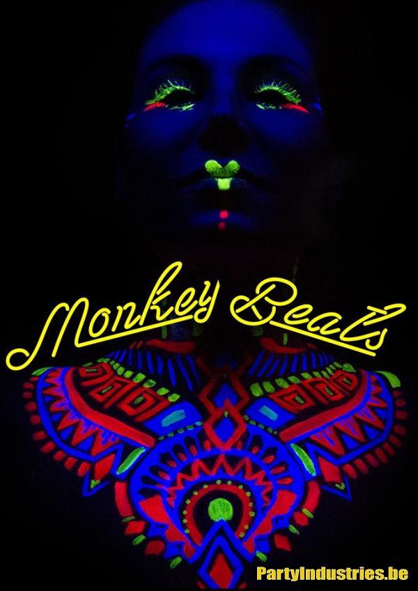 Flyer van Monkey Beats