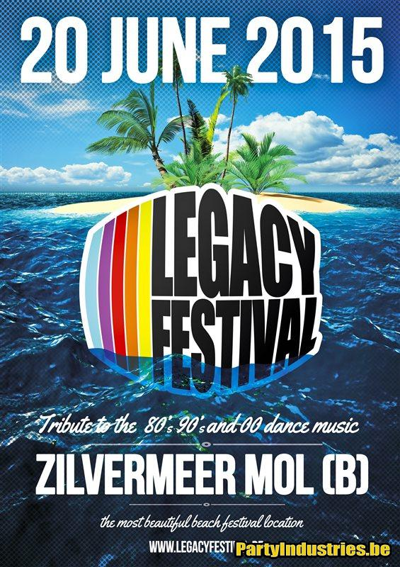 Flyer van Legacy Festival