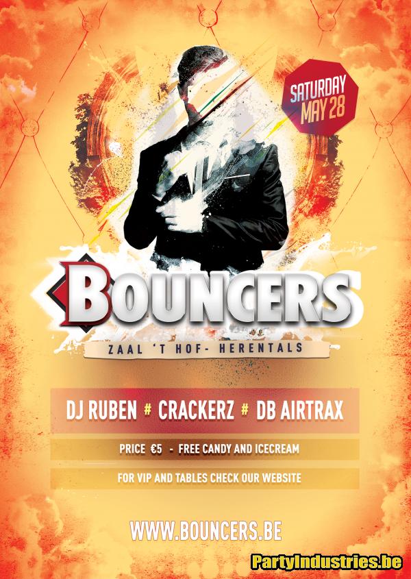 Flyer van Bouncers 2016