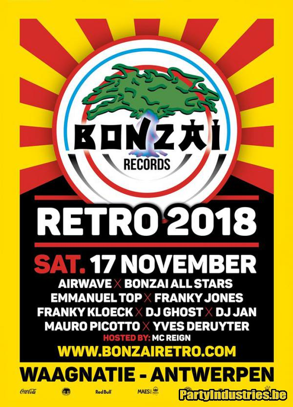 Flyer van Bonzai Retro 2018