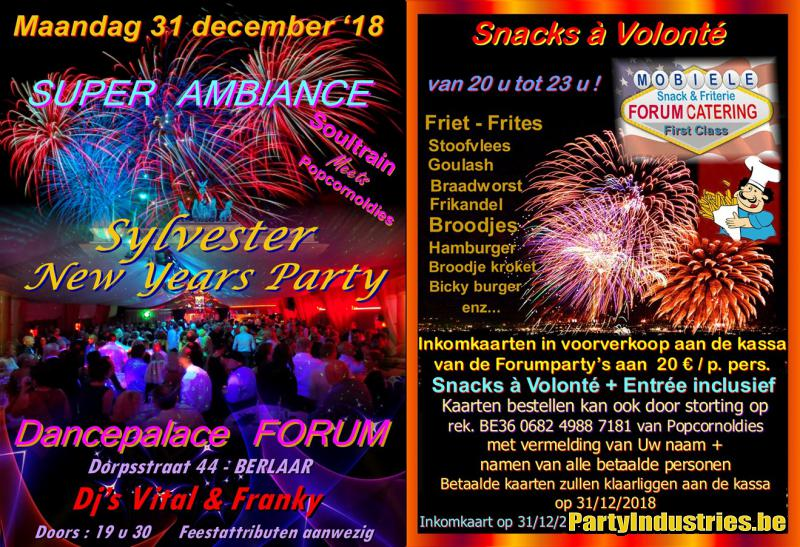 Flyer van Sylvester - New Years Party