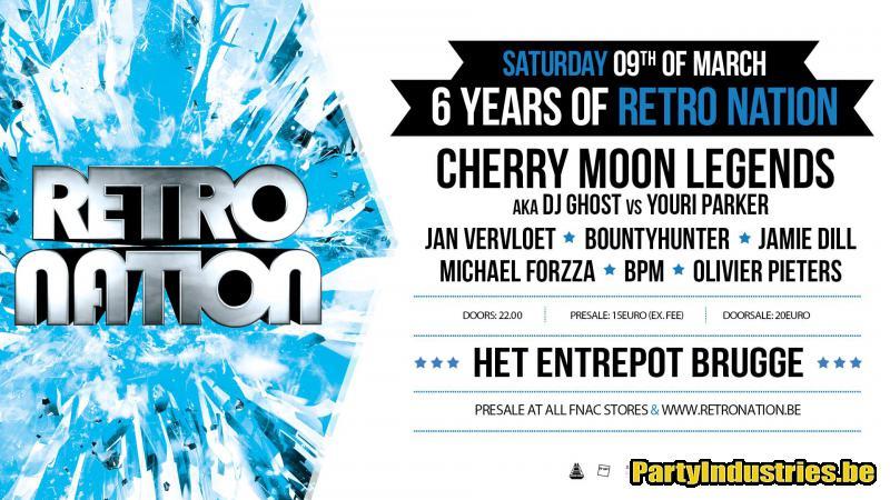 Flyer van 6 Years of Retro Nation