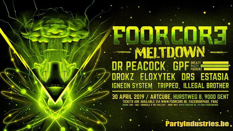Flyer van Foorcore: Meltdown