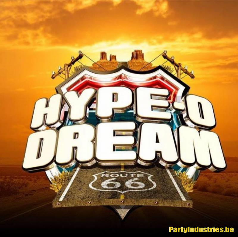 Flyer van Hype-O-Dream 2019