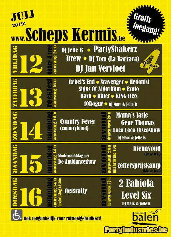 Flyer van Schepskermis