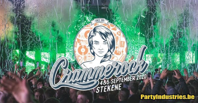 Flyer van Crammerock 2020 - dag 1
