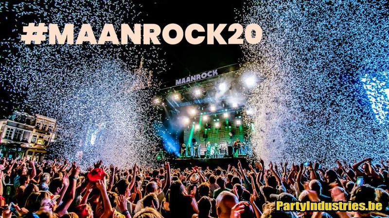 Flyer van Maanrock 2020 - dag 2