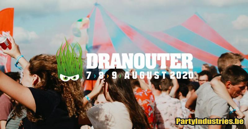 Flyer van Festival Dranouter 2020