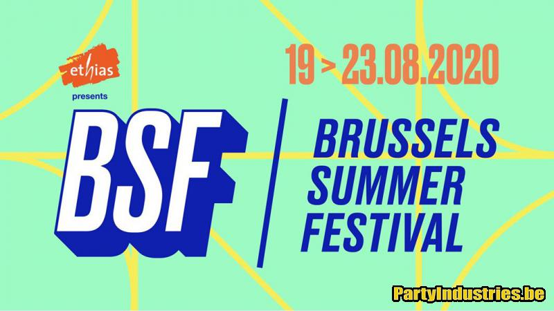Flyer van Brussels Summer Festival   BSF 2020 - dag 5