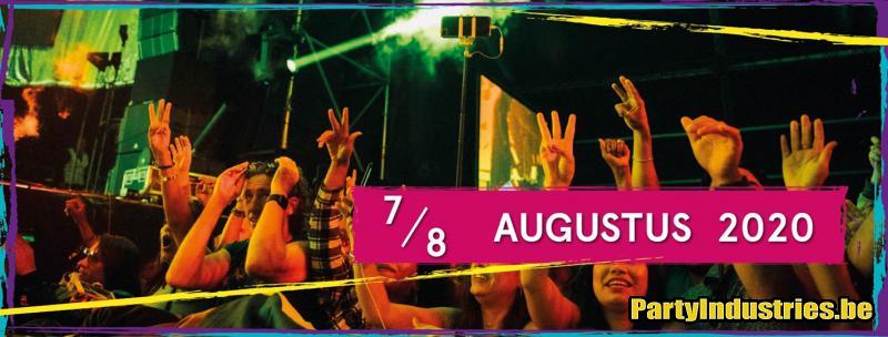 Flyer van Antilliaanse Feesten 2020 - dag 1