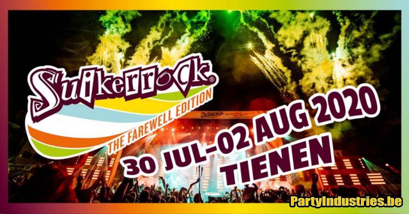 Flyer van Suikerrock 2020, The Farewell Edition - dag 4