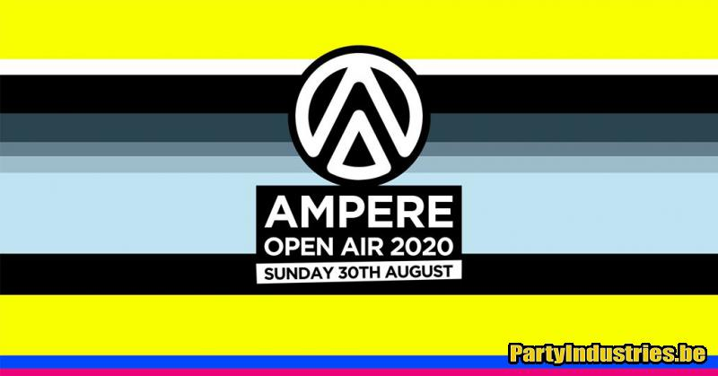 Flyer van Ampere Open Air 2020