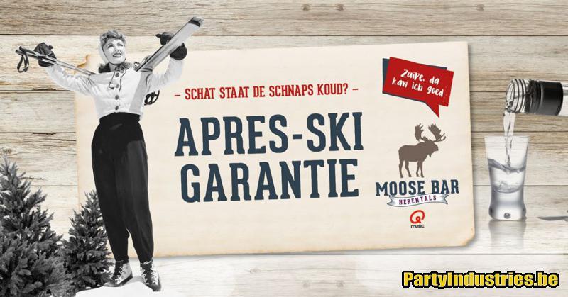 Flyer van Après-Ski Garantie met DJ Mr.E