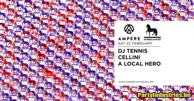 Flyer van HobbelPaard x Ampere present: Dj Tennis