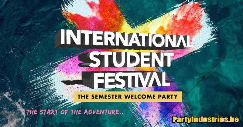 Flyer van International Student Festival