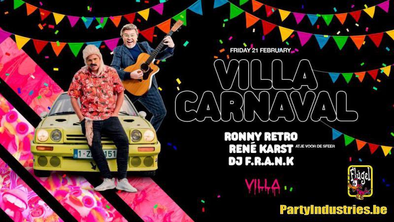 Flyer van Villa Carnaval