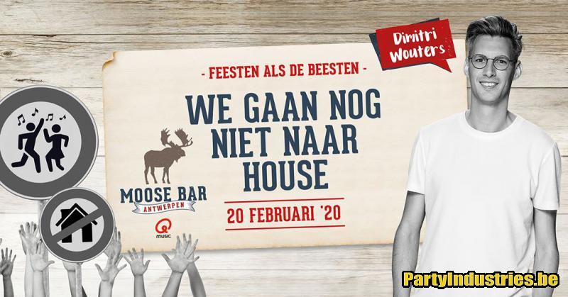 Flyer van Après-ski Garantie met Dimitri Wouters