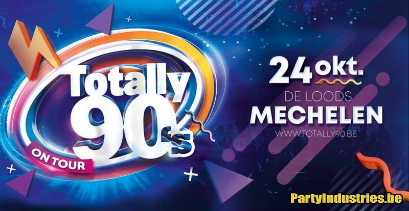 Flyer van Totally 90's - Mechelen