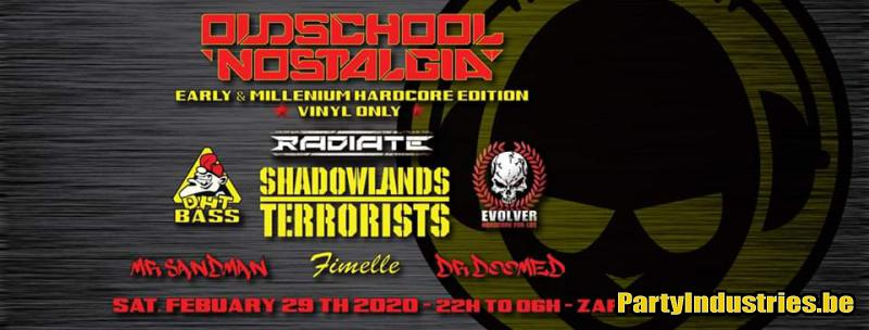 Flyer van Osn-Events: Early&Millennium Hardcore Edition *Vinyl Only*