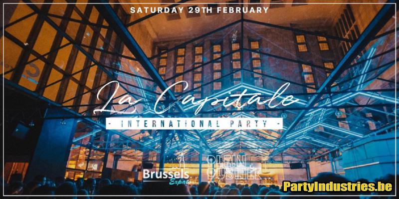 Flyer van La Capitale - International Party - Leap Day
