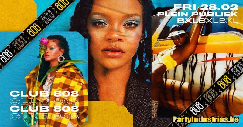 Flyer van CLUB 808 (90's, 00's, 10's Hip-hop & R&B)