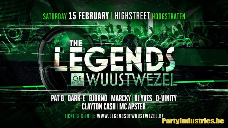 Flyer van Legends of Wuustwezel