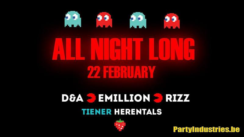 Flyer van ALL NIGHT LONG | D&A B2B Emillion B2B RIZZ