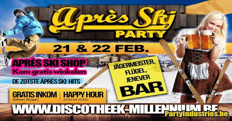 Flyer van Après Ski Party