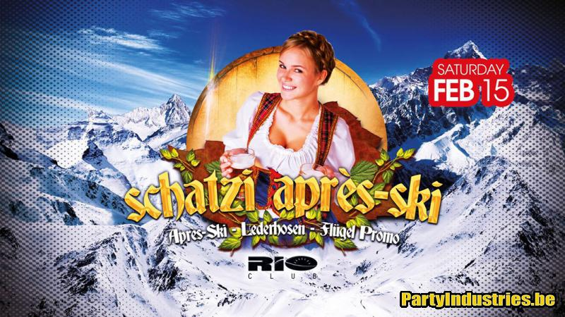 Flyer van Schatzi Après-Ski