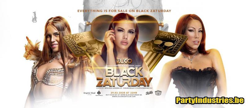 Flyer van Black Zaturday