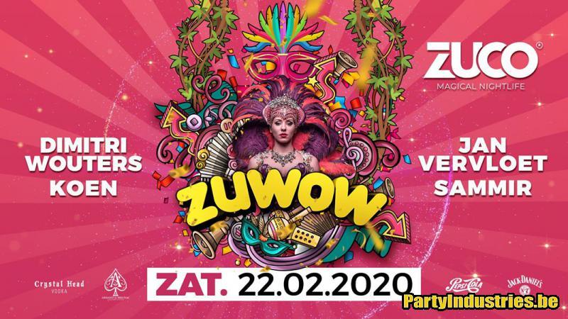 Flyer van ZUWOW ft. Birthday Dj KOEN
