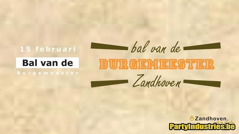 Flyer van Bal van de Burgemeester