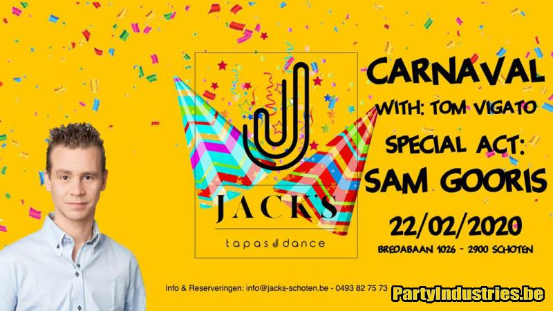 Flyer van Carnaval - Sam Gooris