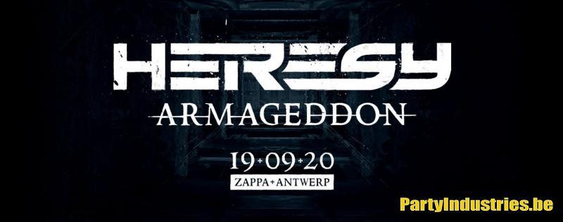 Flyer van Heresy Armageddon
