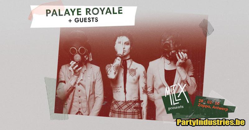 Flyer van MCLX presents Palaye Royale