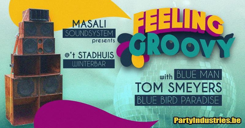Flyer van Feeling Groovy - 't Stadhuis