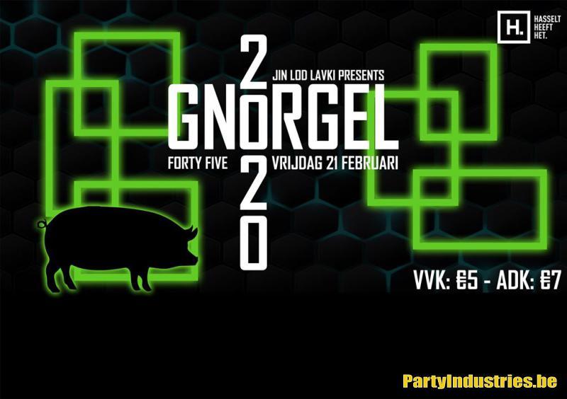 Flyer van Gnorgel 2020