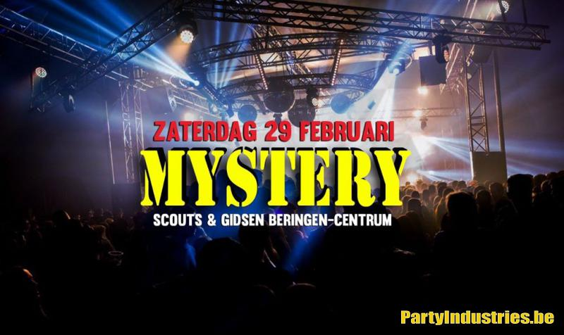 Flyer van MYSTERY PARTY 2020