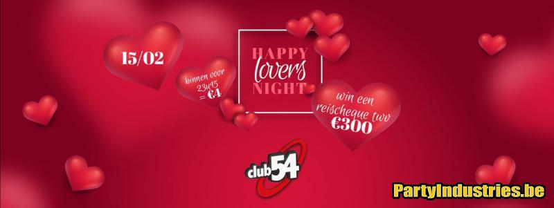 Flyer van Happy Lovers Night