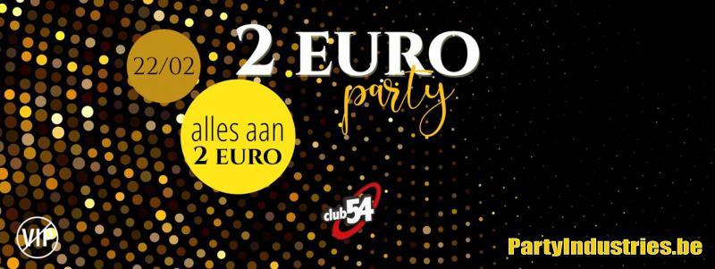Flyer van 2 euro party
