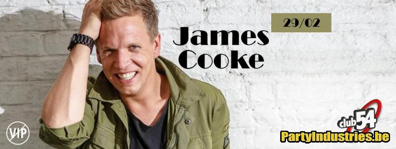 Flyer van Club 54 invites: James Cooke