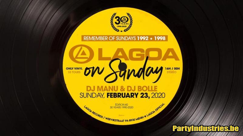 Flyer van Lagoa On Sunday / Vinyl Only //edition#2