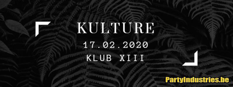 Flyer van Kulture at Klub XIII