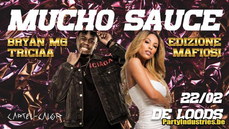 Flyer van Mucho Sauce Edizione Mafiosi