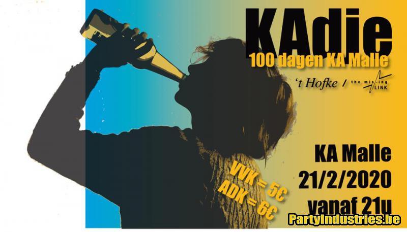 Flyer van KAdje - 100 dagen KA Malle