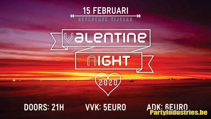Flyer van Valentine Night 2020